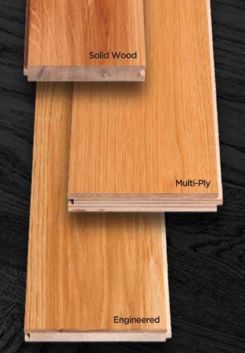 Types of Hardwood Floor Construction