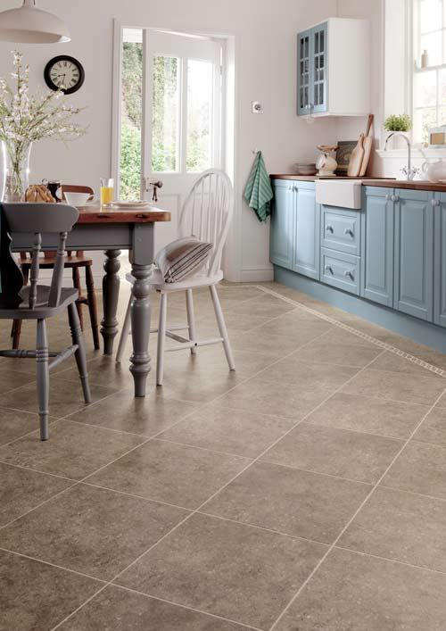 Kitchen-floor-square-vinyl-tiles