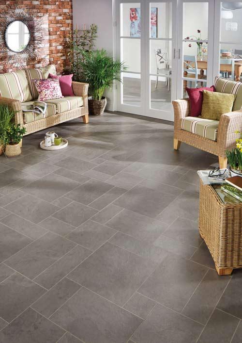 Vinyl-tiled-conservatory-floor